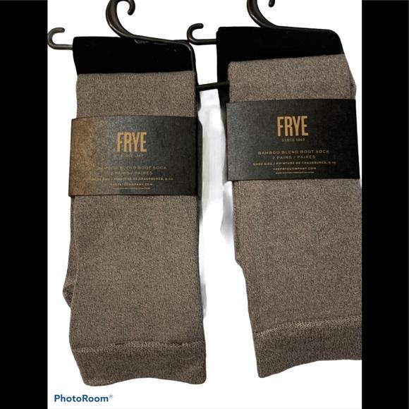 New Frye Bamboo Boot Socks 2 Packs 4 Pairs